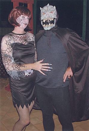 Spider Witch & The Ghoul, Halloween, October 2004