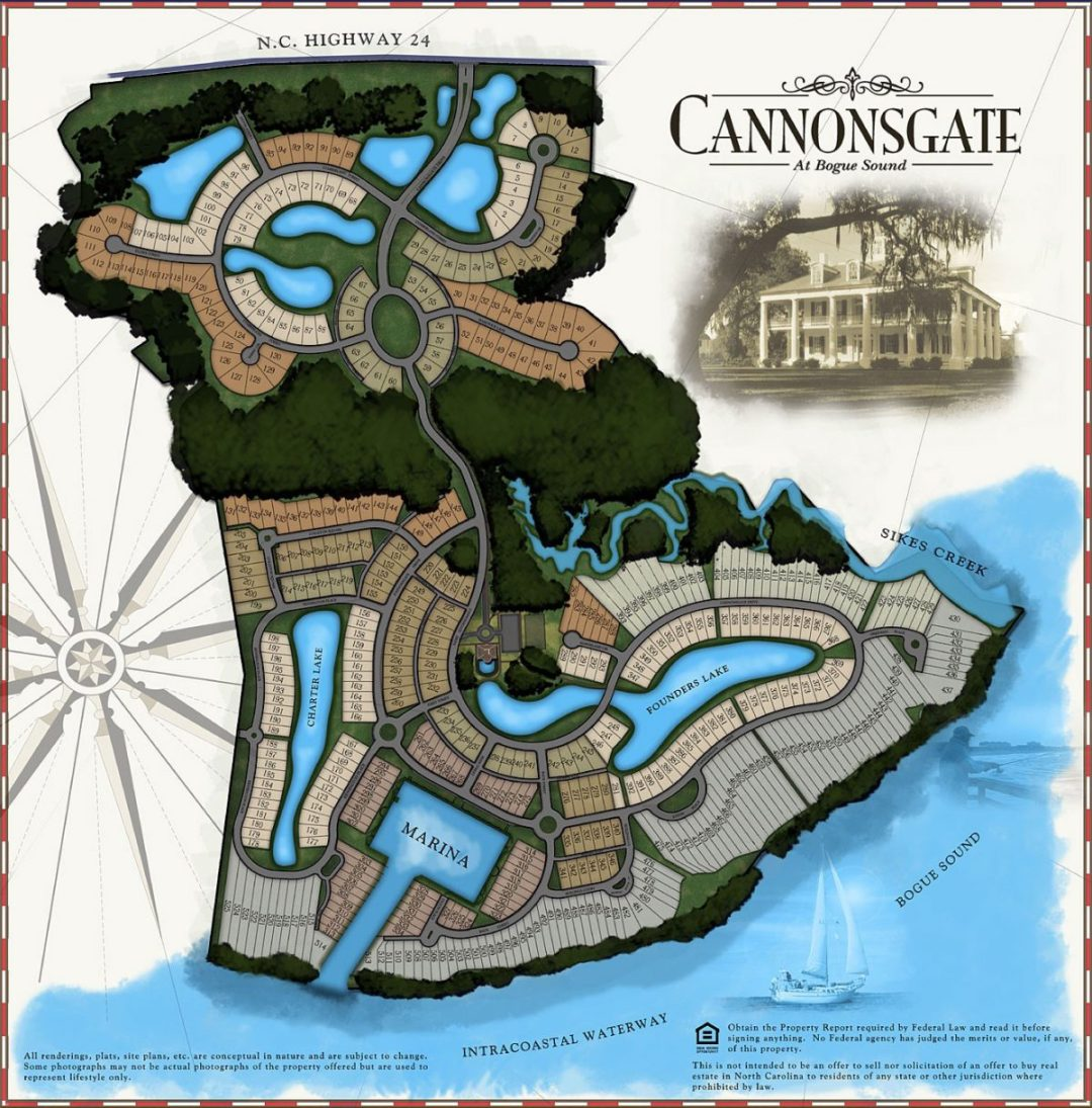 Cannonsgate Map