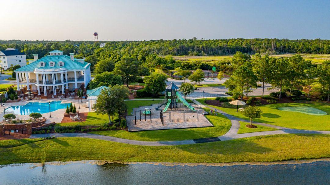 Playground and Putting Green