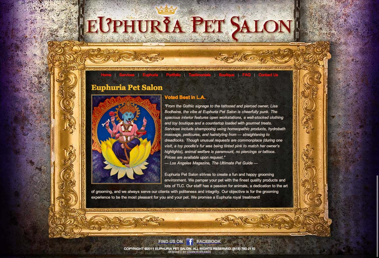 Euphuria Pet Salon