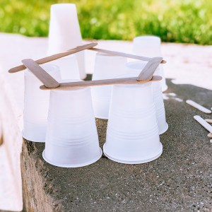 Popsicle Stick Sensory Build