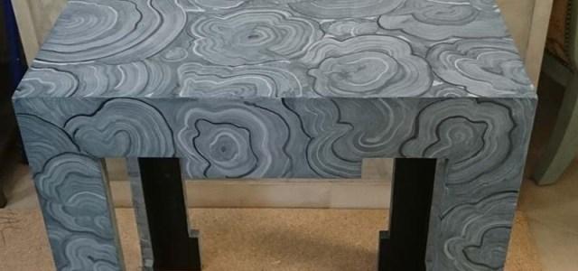 Pintar muebles ikea Mesa decorada con pintura