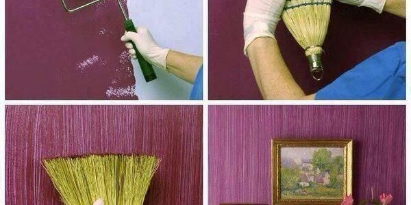 efeito do vintage, Equipamento de pintura