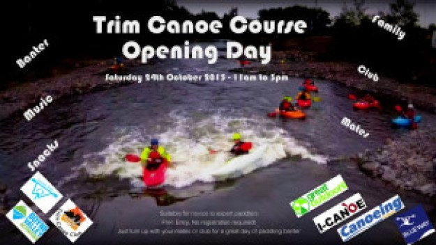 Trim Canoe Course Open Day