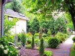 side walk garden