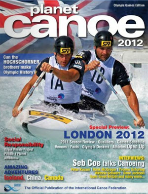 Planet Canoe magazine from the ICF