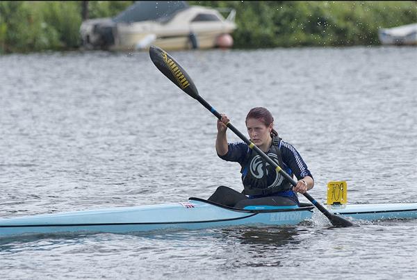 Racing at the Royal Canoe Club