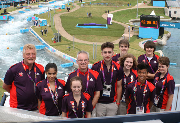 Phoenix Young Gamesmakers at Lee Valley statium