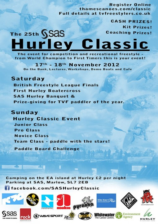 Hurley Classic Freestyle Poster 2012