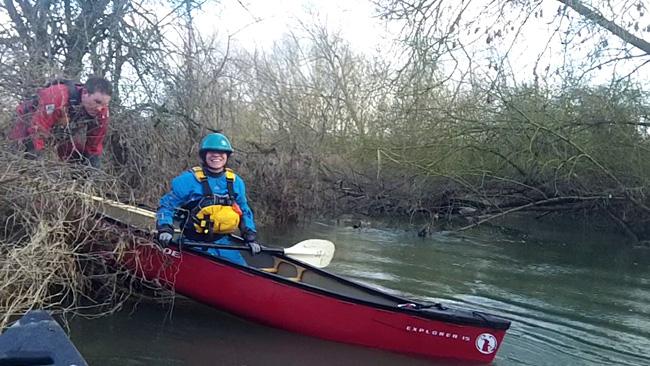 Portage on the Swift Ditch, Abingdon