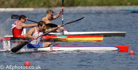 Canoe Sprint: Ed McKeever is a British kayak sprint athlete and a current European and Olympic Champion.
