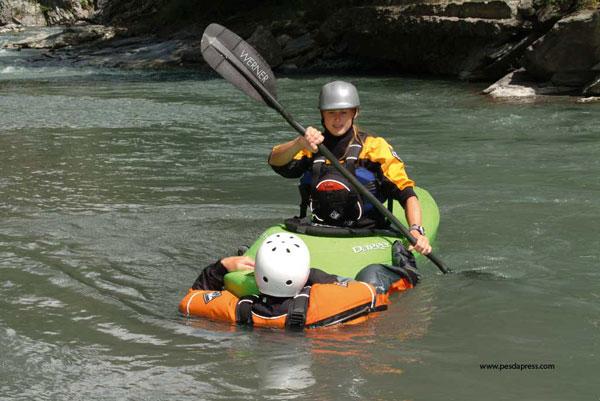 kayak rescue no a river