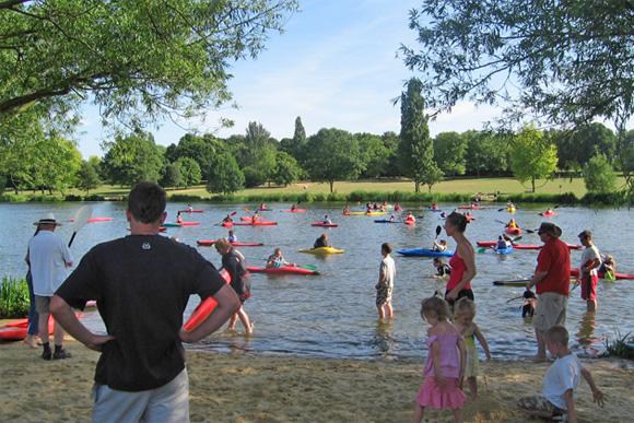 Meridian Canoe Club kayak course