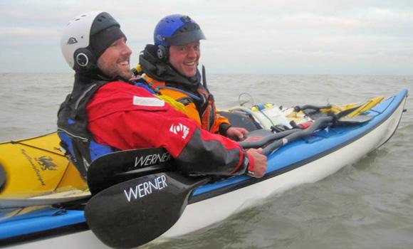 Sea kayaking four star
