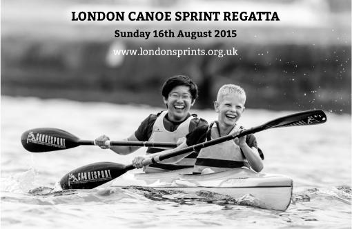 The London Canoe Sprint Regatta 2015