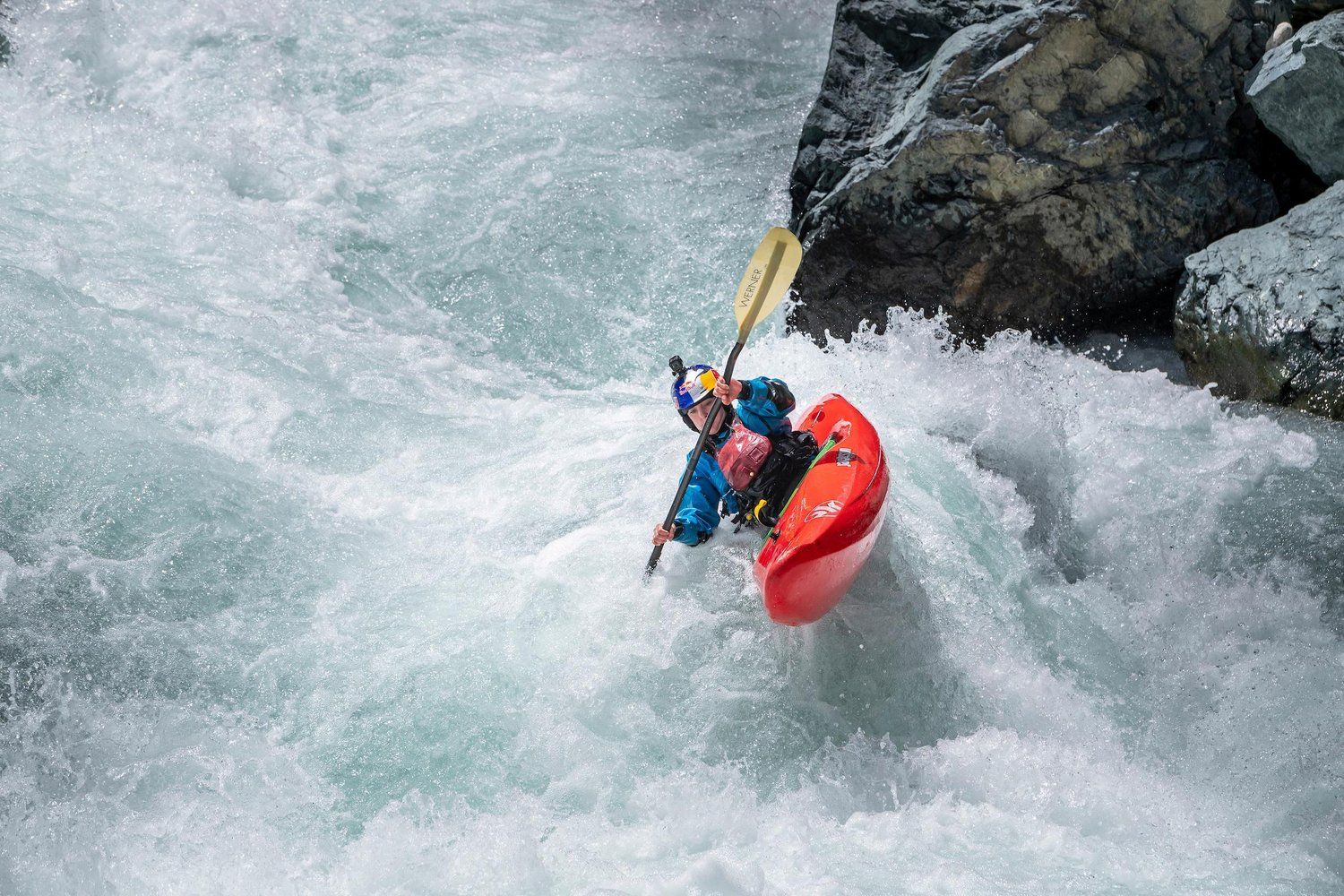 Nouria Newman's solo whitewater kayaking expedition in northern Indian, The Ladakh Project