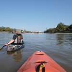 Fulham to Westminster, kayaking London with the Thames tides