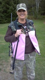Maria while on 2012 Maine moose hunt