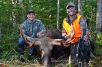 Dustin's 2012 Maine bull moose