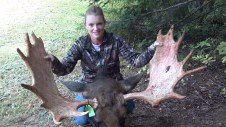 Disabled Veterans Moose Hunt in Northern Maine