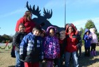 Linkhorne Elementary School Students on a field trip to Dave's Maine Wreaths and Trees