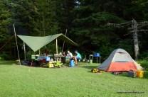 Allagash campsite