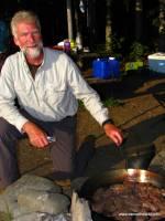 Cooking Red Deer Meat Allagash trip