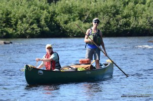 Tammi Canoe Poling