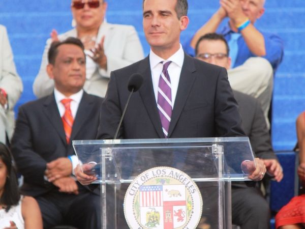 Los Angeles Mayor Garcetti to Address State of City
