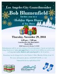 Open House & Toy Drive.