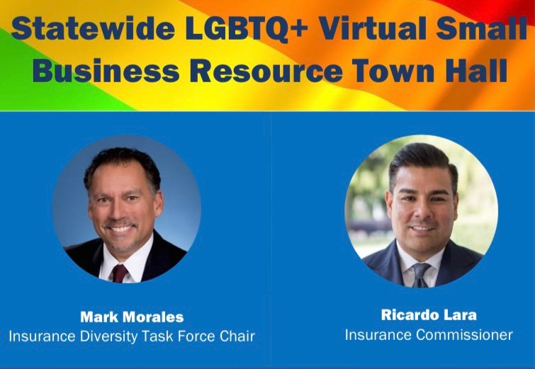 California LGBTQ+ Virtual Small Business Resource Town Hall