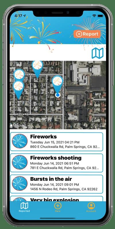 Fireworks App and Survey