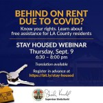 Behind on Rent due to COVID?