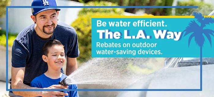 LADWP Urges Water Saving
