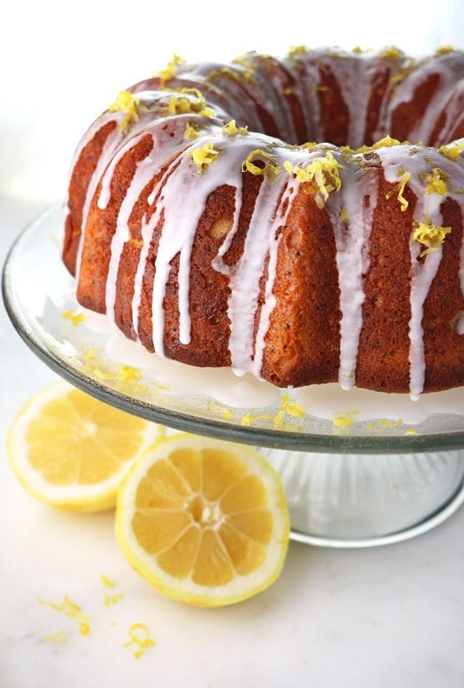 Lemon Poppy Seed Yogurt Cake – Eat Well