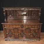 Jacobean Sideboard Antique Oak Server Buffet Kitchen Furniture Ebay
