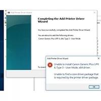 Generic Plus UFR II Printer Driver Setup
