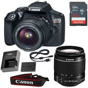 Canon T6 refurbished bundle