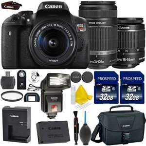 Canon T6i 2 lenses bundle