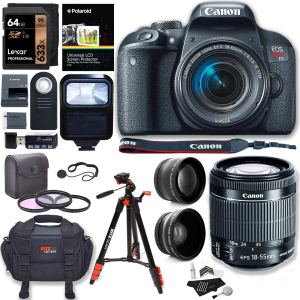 Canon T7i 1 Lens Bundle Kit