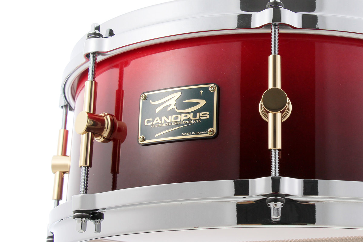 The Maple Snare Drum   CANOPUS DRUMS