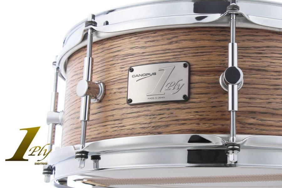 1ply Oak Snare Drum