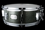 YAIBA II Maple Snare Drum JSM-1455 Yaiba Gray Sparkle LQ