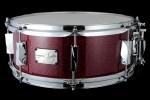 YAIBA II Maple Snare Drum JSM-1455 Dark Red Sparkle LQ