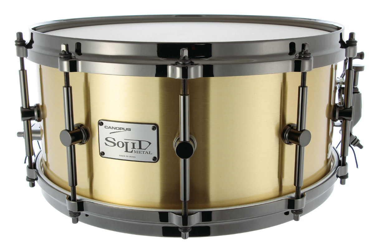 3mm Solid Brass Snare Drum SO3B−1465EX