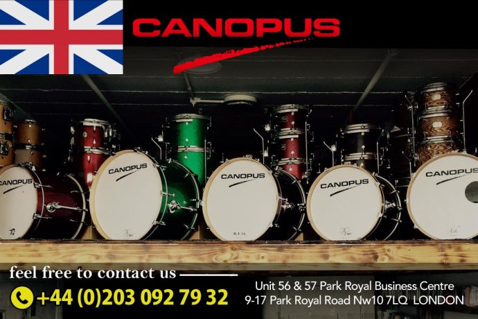 Canopus UK Showroom Open!