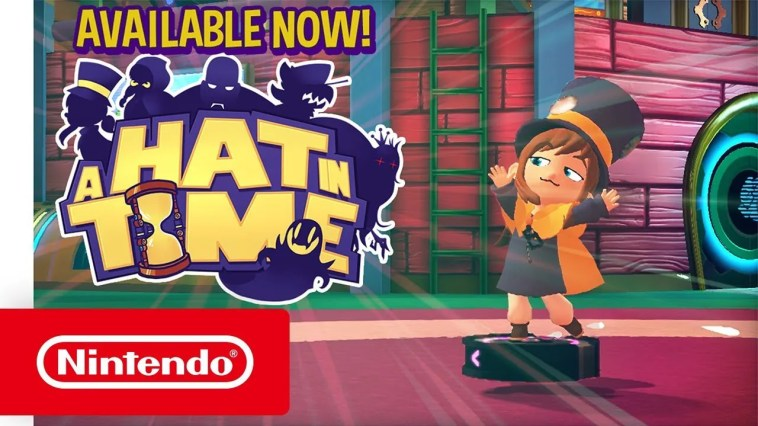 A Hat in Time – Trailer de lançamento (Nintendo Switch)