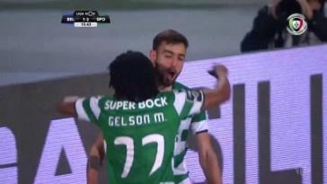 Belenenses 1-(2) Sporting (Liga 30ªJ): Golo de Gelson Martins