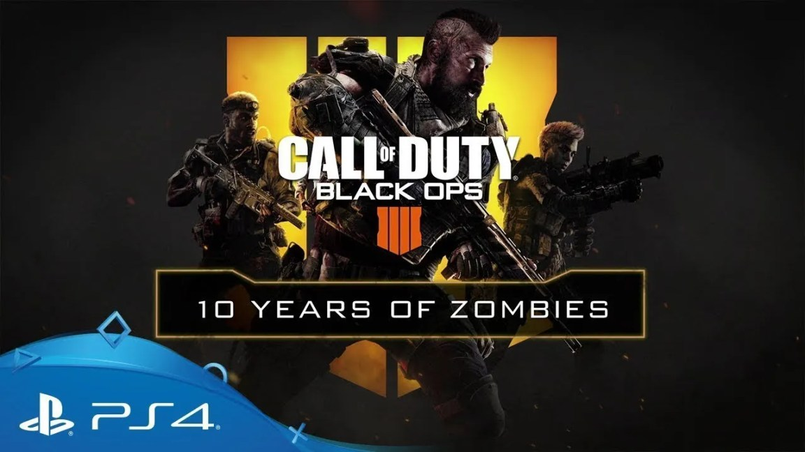 , Call of Duty: Black Ops 4 | 10 anos de Zombies | PS4