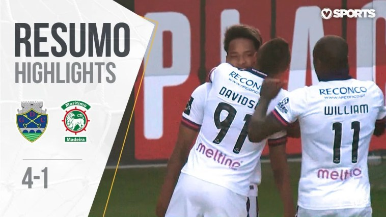 Highlights | Resumo: Chaves 4-1 Marítimo (Liga #33)